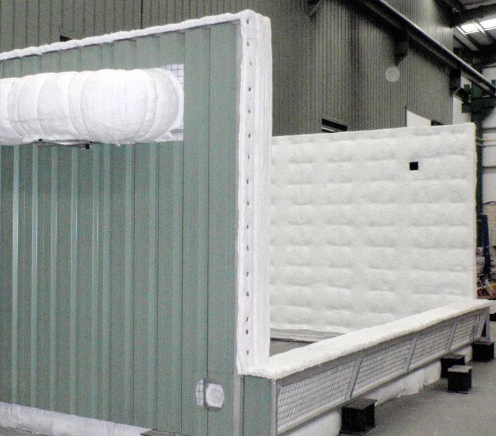 Diseño y fabricación de hornos de tratamiento térmico gas