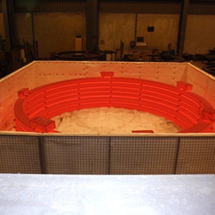 Cooper Hornos fijos y modulares. Tratamientos térmicos con hornos fijos o modulares portátiles. Forjas.
