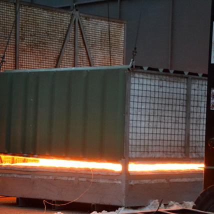 Cooper Tratamientos térmicos con hornos fijos o modulares portátiles