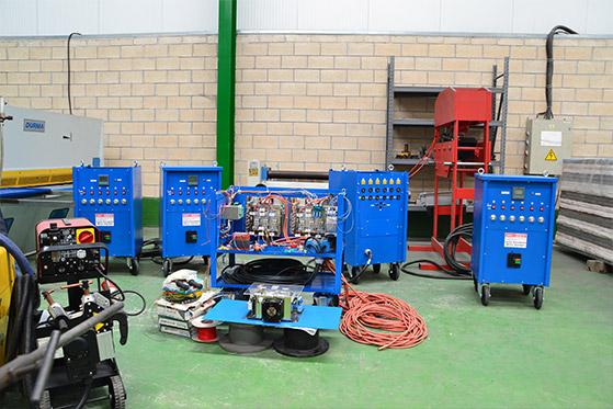 Cooper. Equipos de tratamientos térmicos eléctricos. Revisión y reparación de equipos.