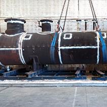 Cooper Tratamientos térmicos con hornos fijos o modulares portátiles y combustión.