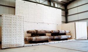 Tratamientos térmicos con hornos fijos o modulares portátiles